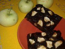 Ciasto cukiniowo - papierówkowe z czekoladą