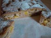 Ciasto cynamonowe z brzoskwiniami