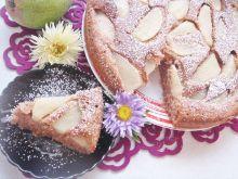 Ciasto cynamonowe z gruszkami