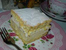 Ciasto cytrynowo- śmietanowe
