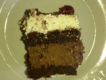 Ciasto czarny las z wisienkami