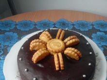 Ciasto czekoladowe na mlecznej czekol.