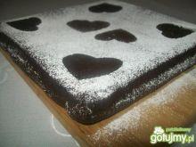 Ciasto czekoladowe wg Misiabe