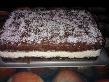 Ciasto czekoladowe z cytrynową pianką