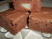 Ciasto czekoladowe z gruszką