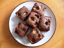 Ciasto czekoladowe z krówkami