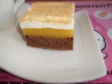 Ciasto czekoladowe z masą dyniowo - jabłkową