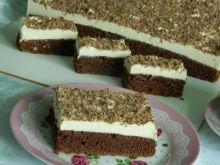Ciasto czekoladowe z masą grysikową