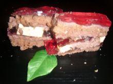 Ciasto czekoladowe z ptasim mleczkiem