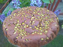 Ciasto czekoladowe z rabarbarem