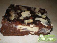 Ciasto czekoladowe z serem Mychy