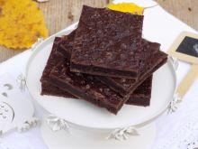 Ciasto czekoladowe z serkiem wiejskim a la brownie