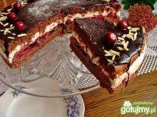 Ciasto czekoladowe z wiśniami iziony