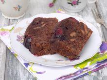 Ciasto czekoladowe ze śliwką