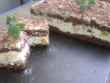 Ciasto czekoladowe ze śmietaną