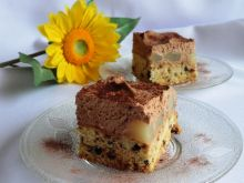 Ciasto czekoladowo gruszkowe