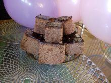 Ciasto czekoladowo - migdałowe