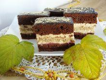 Ciasto czekoladowo-orzechowe z cappuccino
