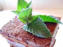 Ciasto czekoladowo- wiśniowe