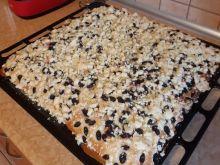 Ciasto drożdżowe na dużą blachę z piekarnika