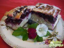 Ciasto drożdzowe z borówką amerykańską
