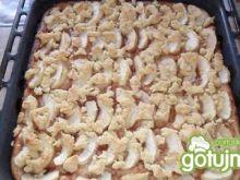 Ciasto drożdżowe z jabłkiem