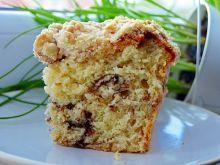 Ciasto drożdżowe z kakao i kruszonką