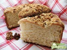 Ciasto drożdżowe z orzechową kurszonką