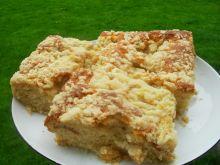 Ciasto drożdzowe z pigwą