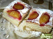 Ciasto drożdzowe ze śliwkami