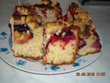 Ciasto drożdzowe ze sliwkami