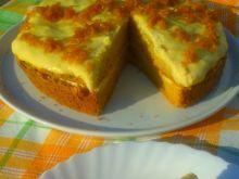 Ciasto dyniowe z kremem budyniowym