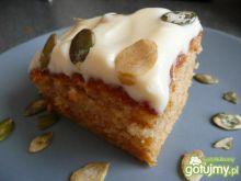 Ciasto dyniowe z pysznym kremem Elfi