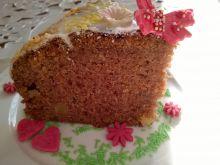 Ciasto dyniowo-marchewkowe z żurawiną i mango