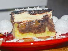 Ciasto fale dunaju z cynamonem i śliwką