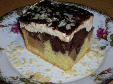 Ciasto fale dunaju z gruszką