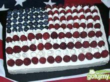 Ciasto Flaga USA