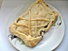 Ciasto francuskie z borówką