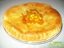 Ciasto francuskie z dyniowym farszem