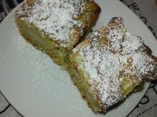 Ciasto gruszkowo - rabarbarowe