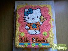 Ciasto Hello Kitty