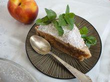 Ciasto imbirowo-cynamonowe z brzoskwinią