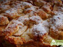 Ciasto jabłkowo-gruszkowe z budyniem