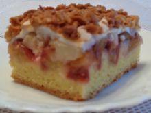 Ciasto jabłkowo śliwkowe