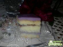 Ciasto jagodowo-fioletowe