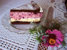 Ciasto jeżynowe z bezami