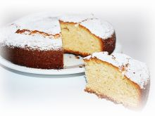 Ciasto jogurtowe- bez użycia miksera