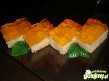 Ciasto jogurtowe z brzoskwiniami 3