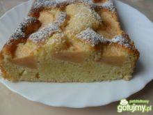 Ciasto jogurtowe z jabłkami wg Reniz