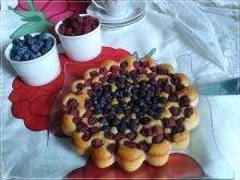 Ciasto jogurtowe z owocami bez tłuszczu